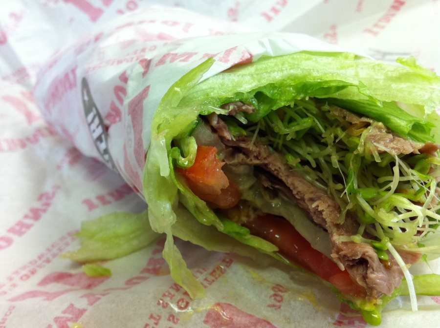 ordering paleo at: jimmy johns (3 best unwiches)
